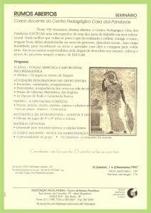 Rumos Abertos 1997